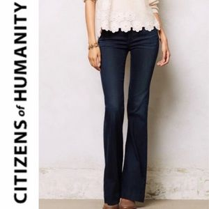"""CITIZENS OF HUMANITY """"Hutton"""" hi-rise wide jeans"""